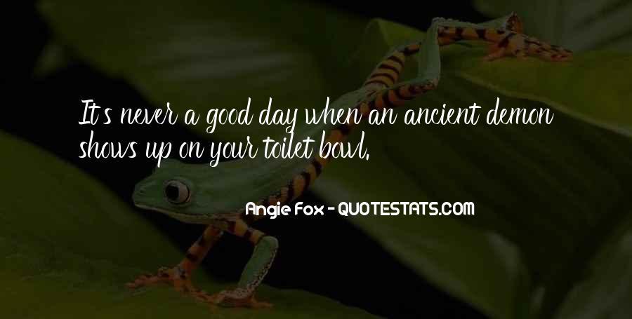 Angie Fox Quotes #404453