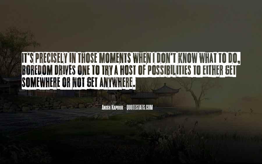 Anish Kapoor Quotes #1264709