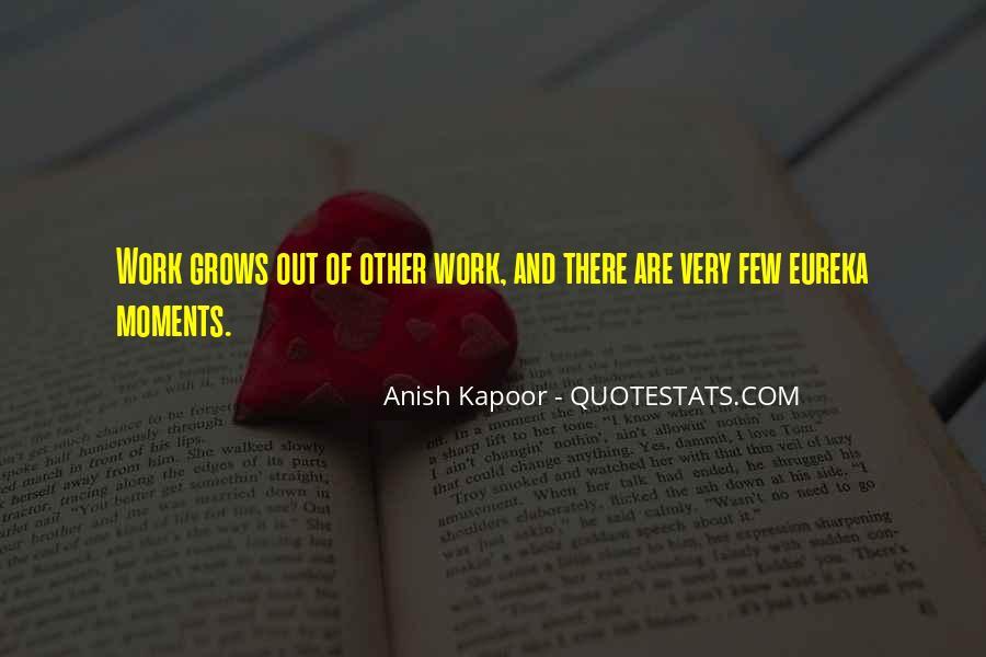 Anish Kapoor Quotes #719408