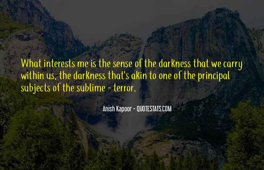 Anish Kapoor Quotes #80088