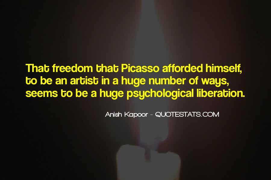 Anish Kapoor Quotes #866164