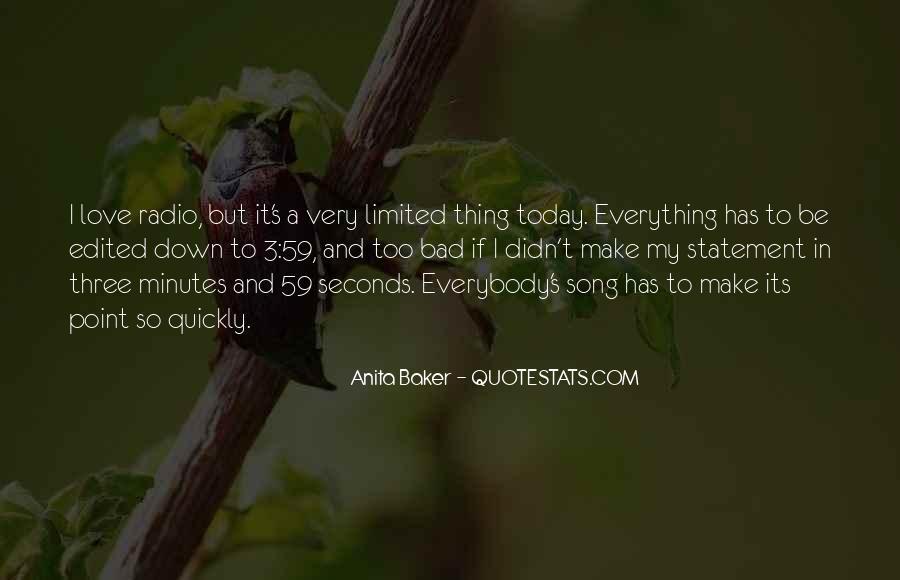 Anita Baker Quotes #1345801