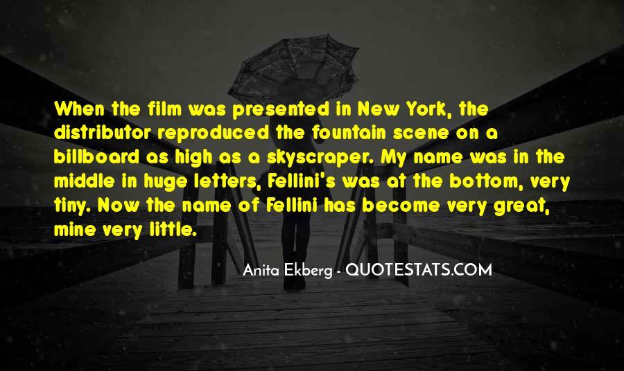 Anita Ekberg Quotes #24984