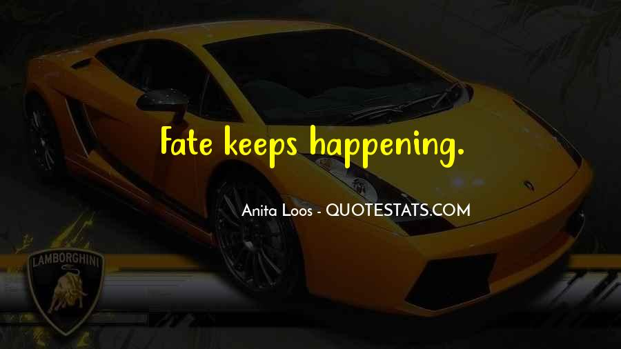 Anita Loos Quotes #1505915