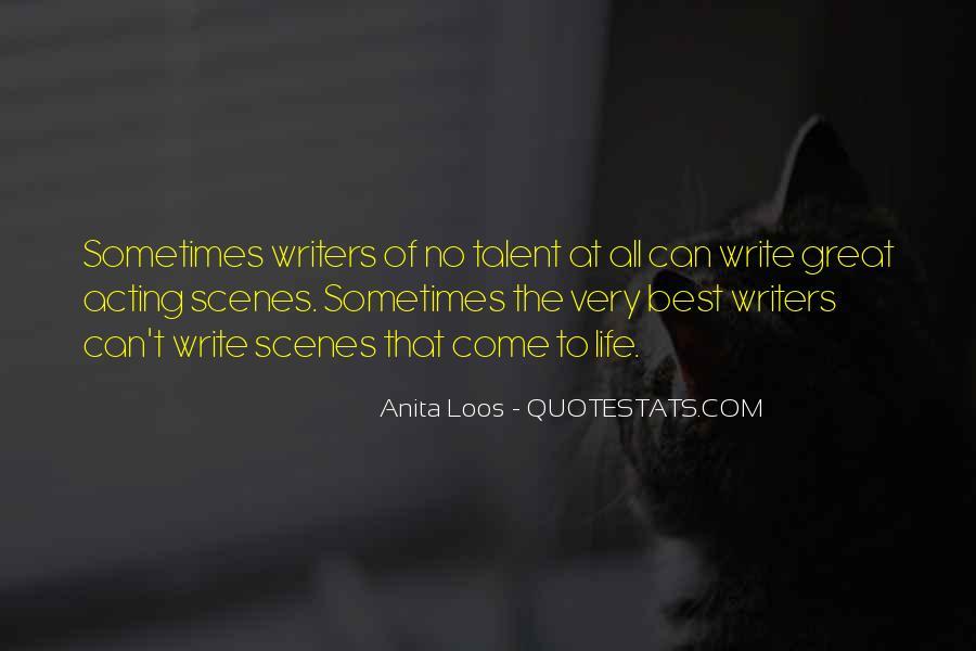 Anita Loos Quotes #1739413