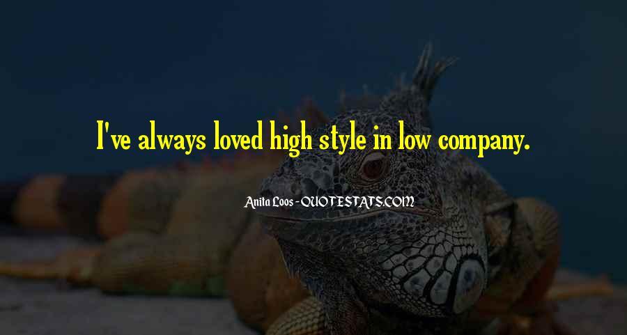Anita Loos Quotes #411283