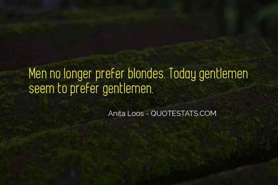 Anita Loos Quotes #702803