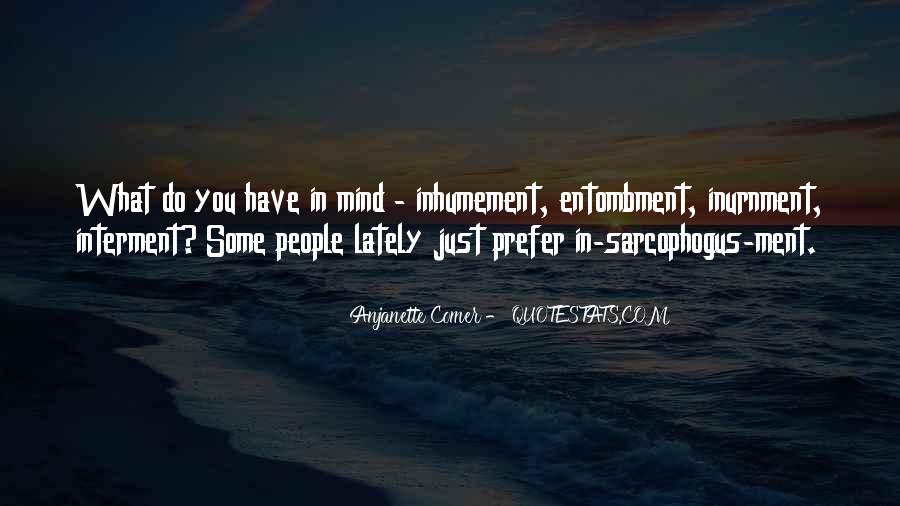 Anjanette Comer Quotes #1124882