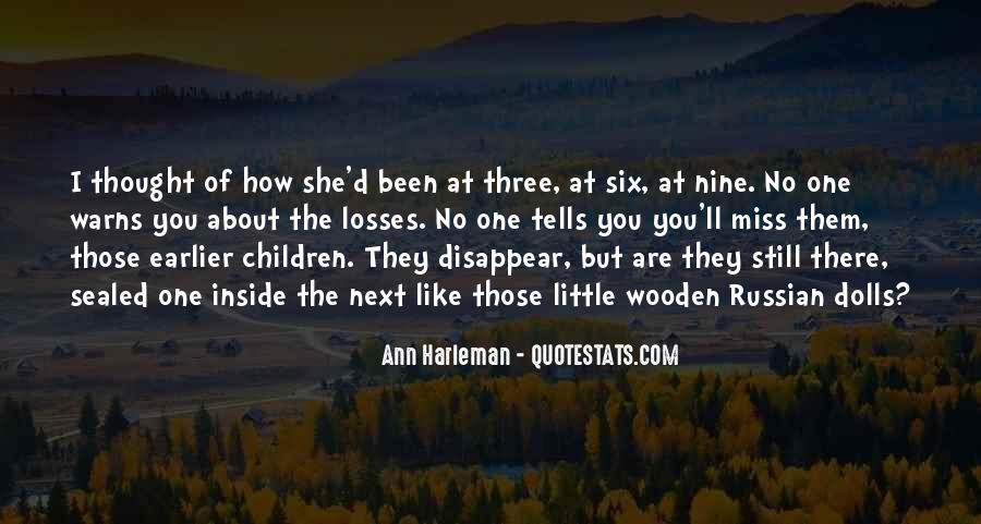 Ann Harleman Quotes #87563
