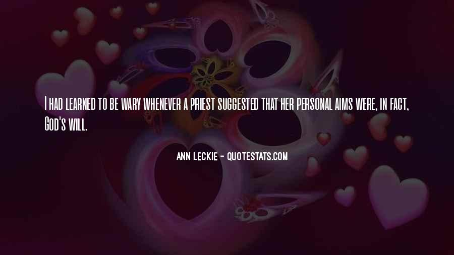 Ann Leckie Quotes #1073414