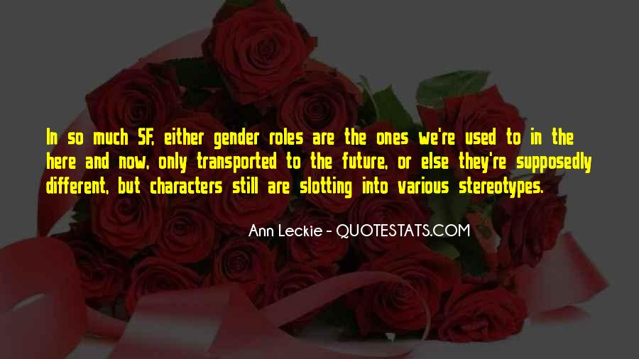 Ann Leckie Quotes #1122063