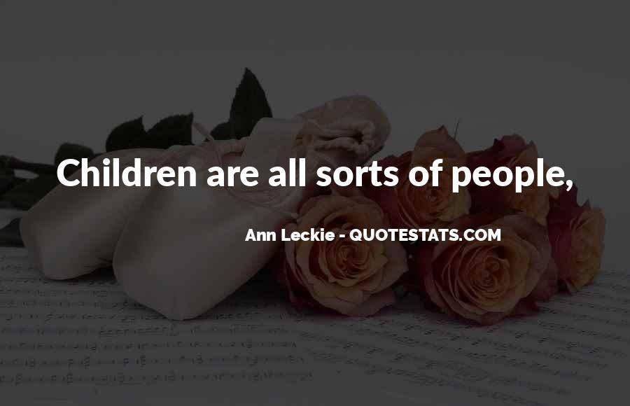 Ann Leckie Quotes #1265602