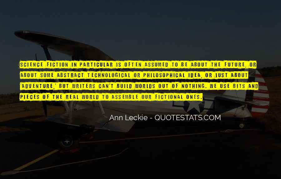 Ann Leckie Quotes #213213