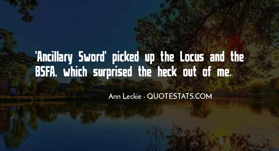 Ann Leckie Quotes #297122