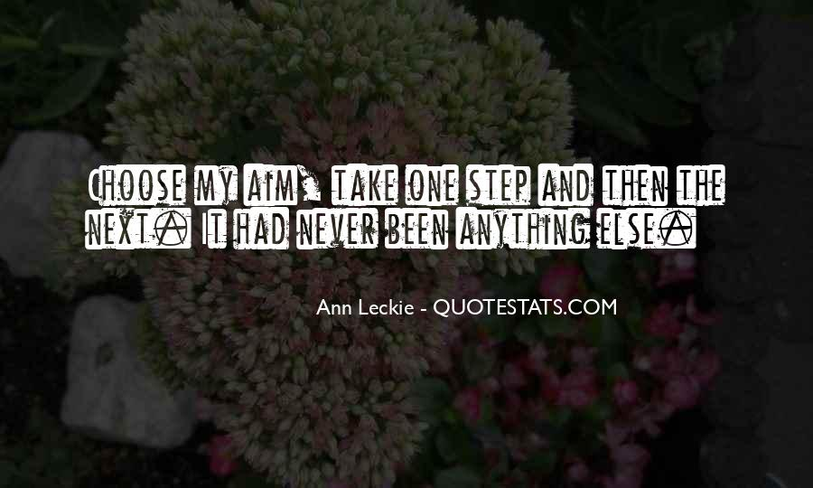 Ann Leckie Quotes #343770