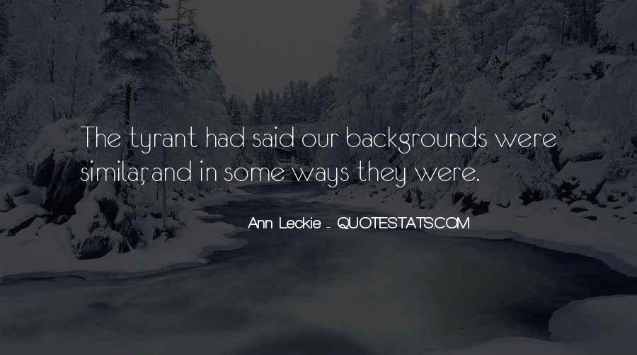 Ann Leckie Quotes #482332