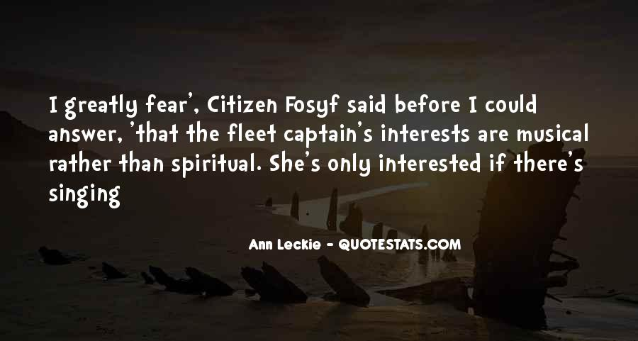 Ann Leckie Quotes #510756