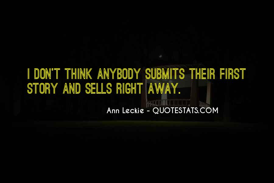 Ann Leckie Quotes #533101