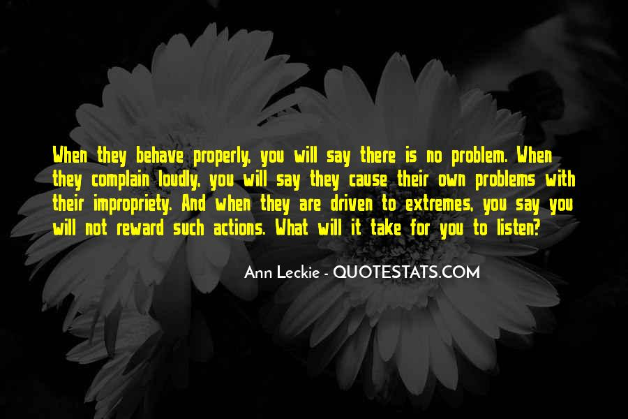 Ann Leckie Quotes #815561