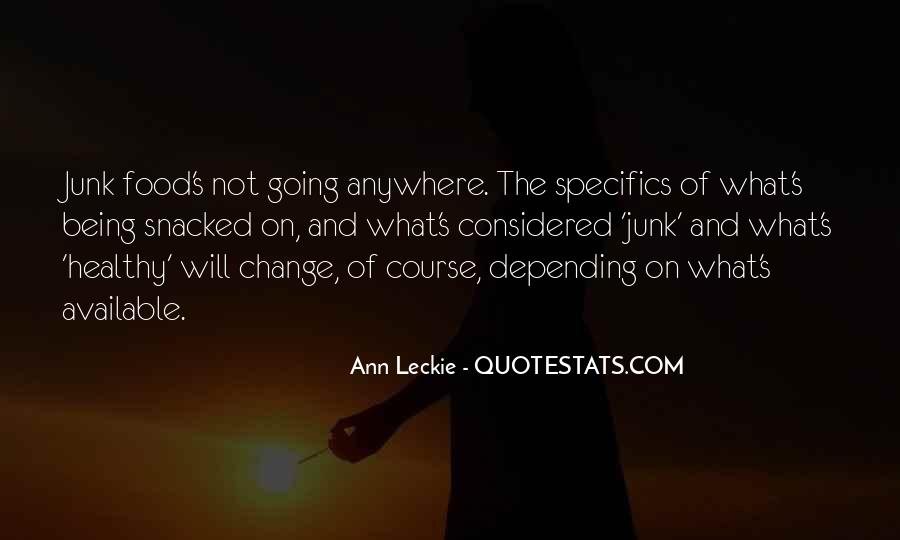 Ann Leckie Quotes #853844