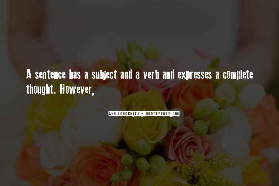 Ann Longknife Quotes #267266