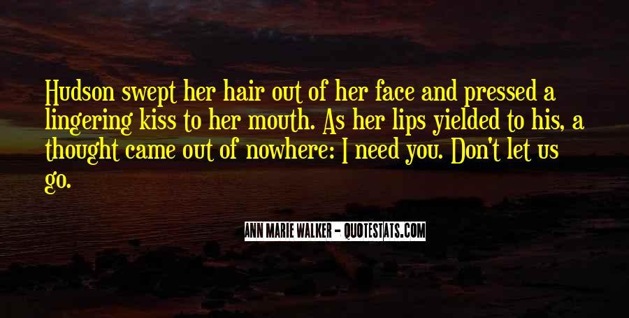 Ann Marie Walker Quotes #1231376