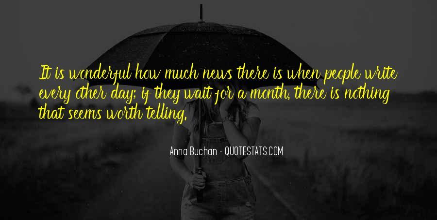 Anna Buchan Quotes #679307