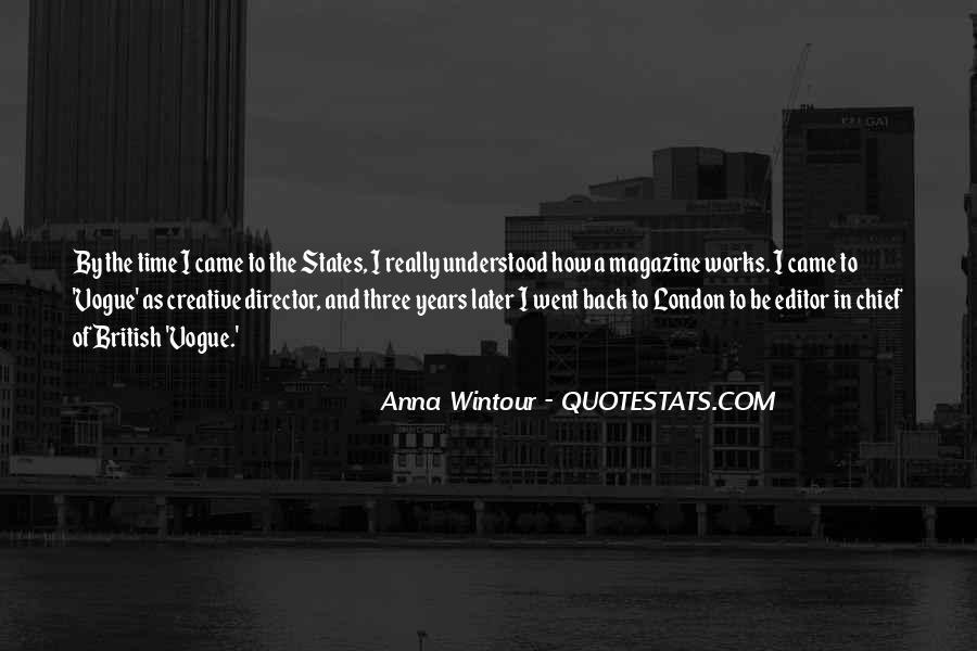Anna Wintour Quotes #1050854