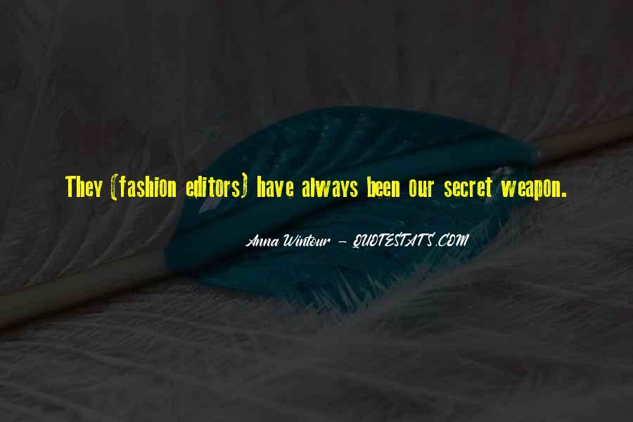 Anna Wintour Quotes #119275