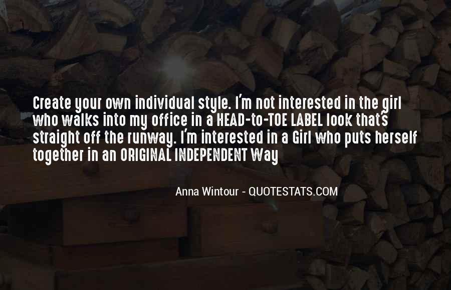 Anna Wintour Quotes #1360800