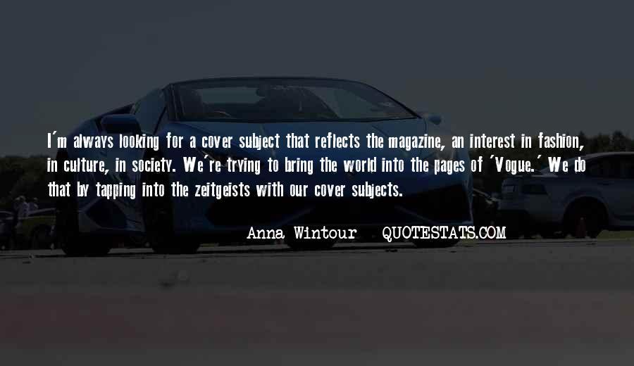 Anna Wintour Quotes #485302