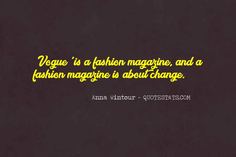 Anna Wintour Quotes #815373