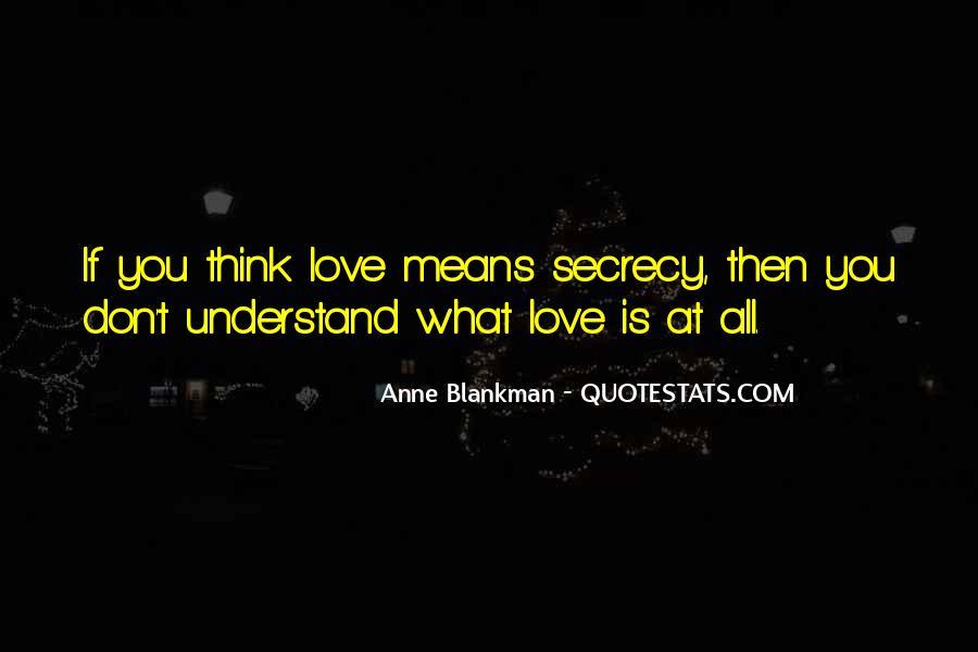 Anne Blankman Quotes #684219