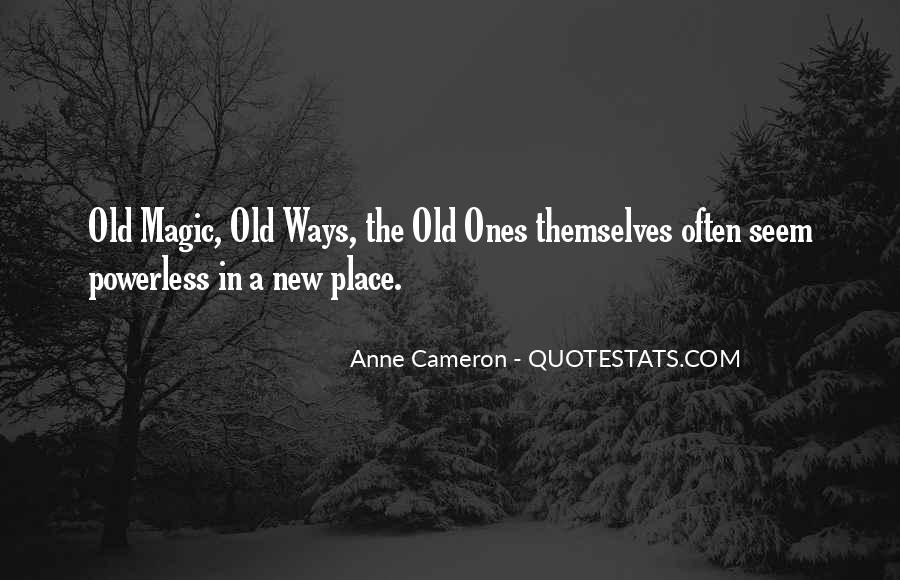Anne Cameron Quotes #35210