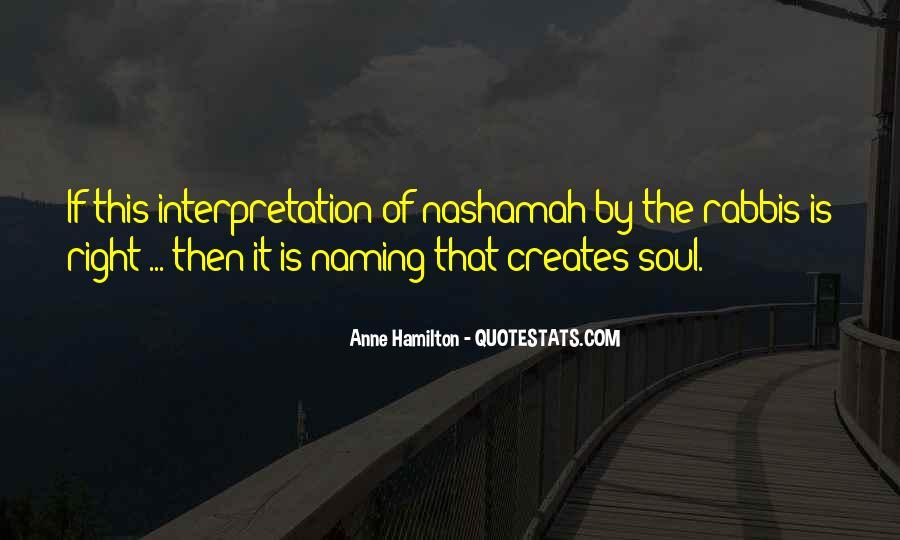 Anne Hamilton Quotes #993282