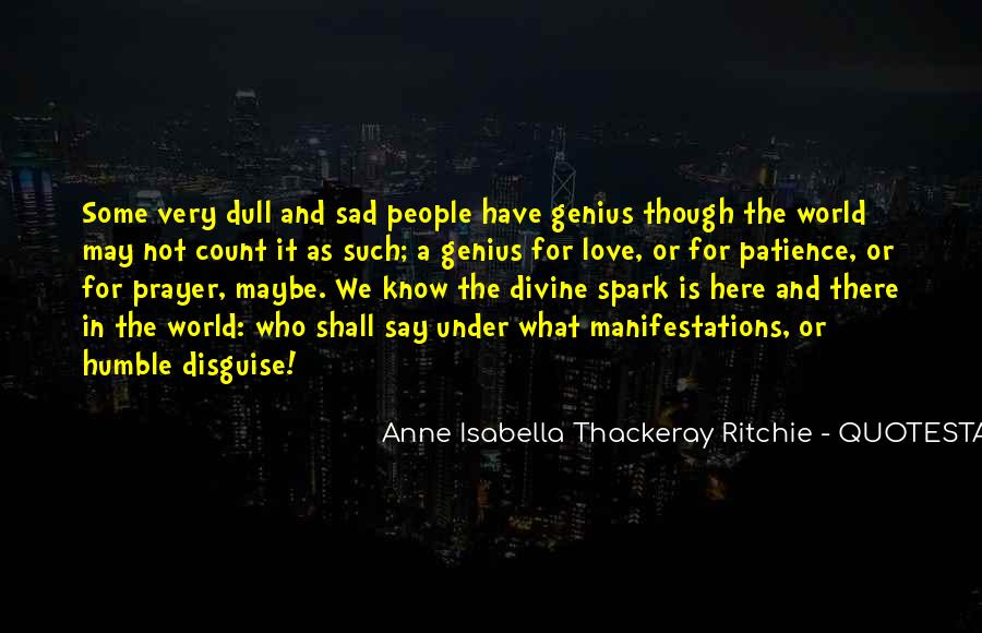 Anne Isabella Thackeray Ritchie Quotes #1421869