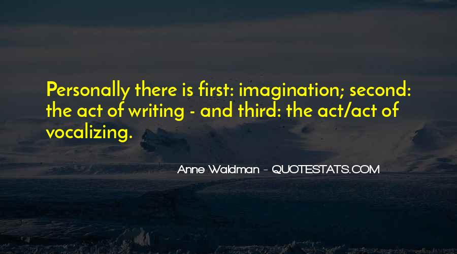 Anne Waldman Quotes #1348175