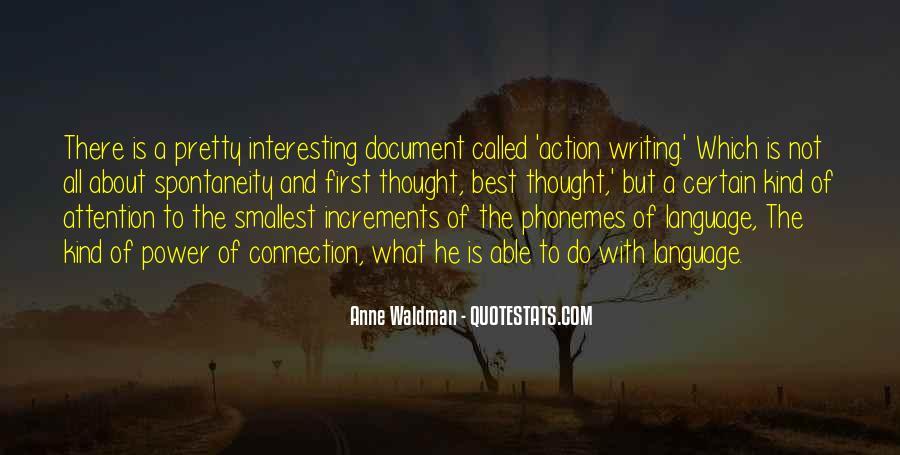 Anne Waldman Quotes #1525693