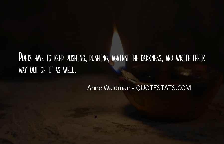 Anne Waldman Quotes #17022