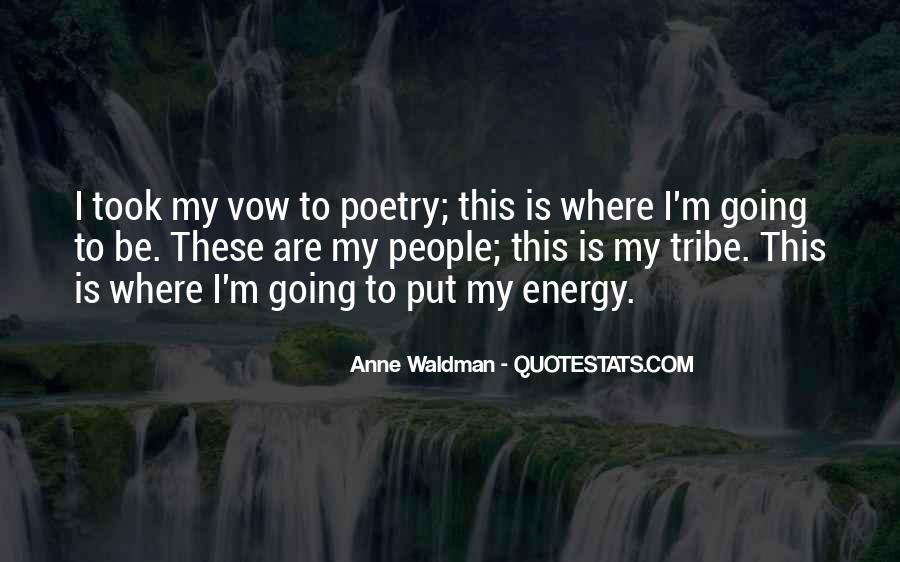 Anne Waldman Quotes #1724288