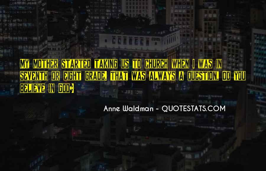 Anne Waldman Quotes #1837411