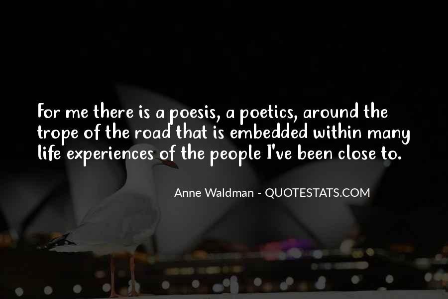 Anne Waldman Quotes #1868384