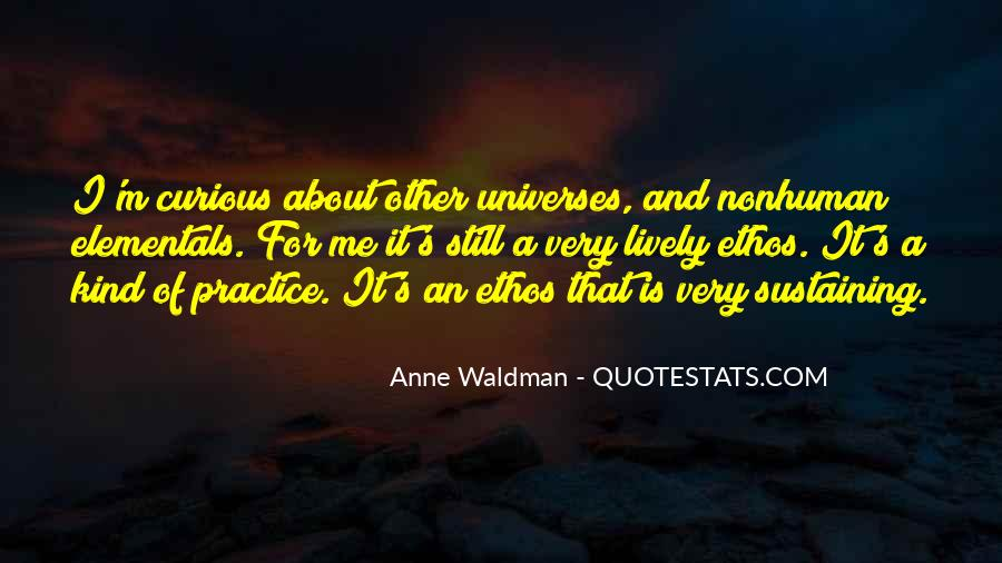 Anne Waldman Quotes #432193