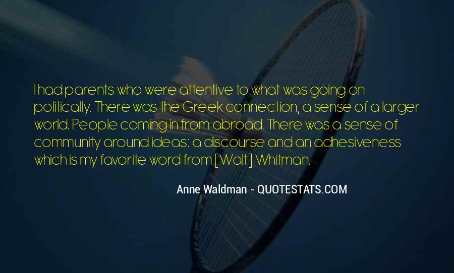 Anne Waldman Quotes #449577