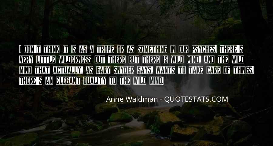 Anne Waldman Quotes #454612