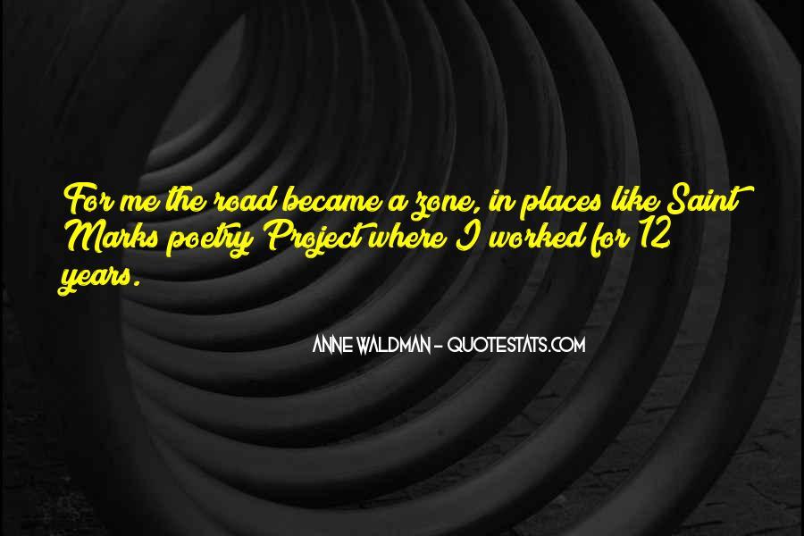 Anne Waldman Quotes #501959