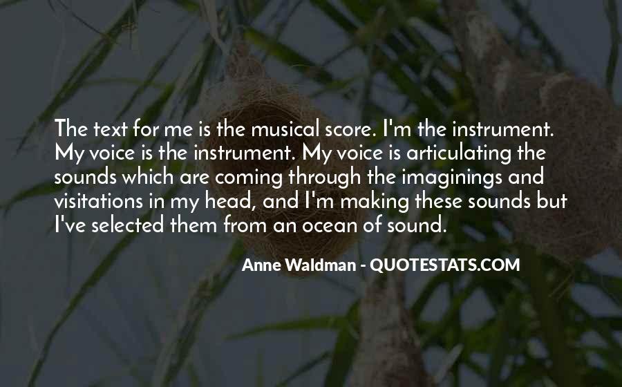 Anne Waldman Quotes #514658