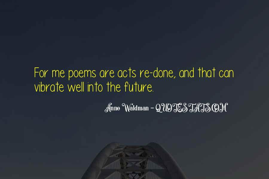 Anne Waldman Quotes #6265