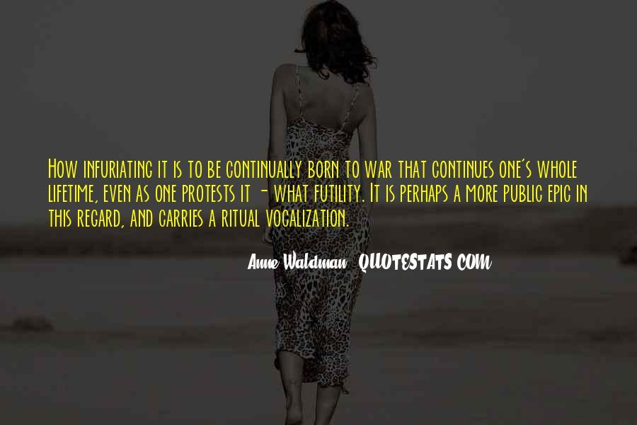 Anne Waldman Quotes #76891