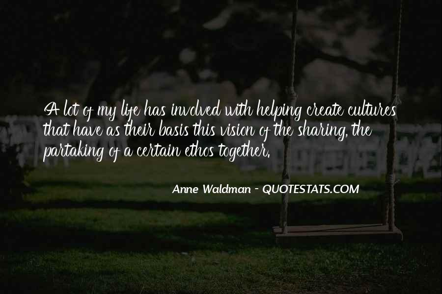 Anne Waldman Quotes #87076